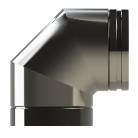90° elbow Twin Wall HT-S