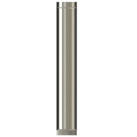1000mm length Single wall SW316 push fit