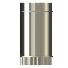 300mm length Single wall SW316 push fit