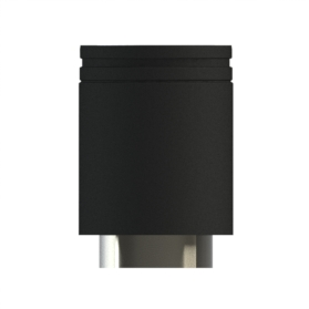 75-150mm Extension Length Matt Black Twin wall HT-S By Midtherm