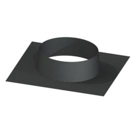 Flat Roof Plate Matt Black