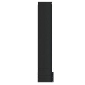 1000mm Starter length Matt Black Twin wall HT-S