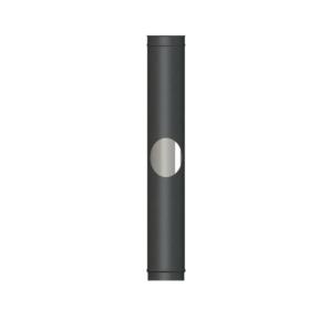 VPD500mm Length single wall matt black