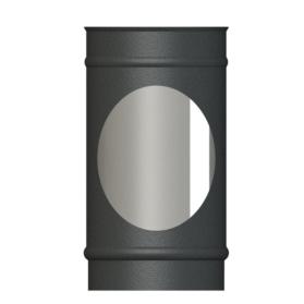 VPD250mm Length single wall matt black