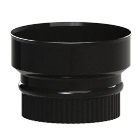 125-150mm in matt black midtherm